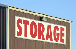 Storage sign Stock Images
