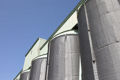 Storage silo Royalty Free Stock Photo