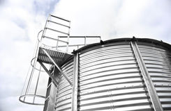 Storage Silo Royalty Free Stock Photography