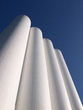 Storage silos. In Wormerveer, the Netherlands Royalty Free Stock Image
