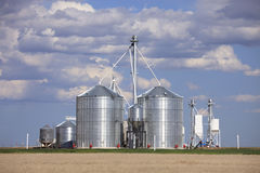 Storage Silos Stock Images