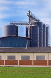 Storage silos Royalty Free Stock Photo