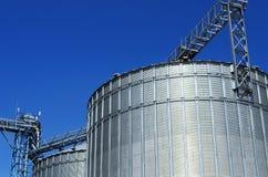 Storage silos Stock Images