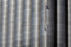 Storage silos Stock Image