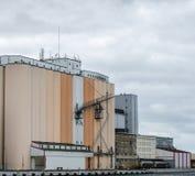 Storage silos Stock Photo
