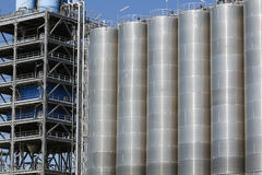 Storage silos Stock Photography