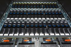 Storage system in the data center Royalty Free Stock Photography