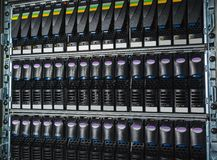 Storage system in the data center Stock Photos