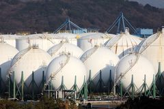 Storage tank Stock Image