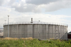 Storage tank Royalty Free Stock Image