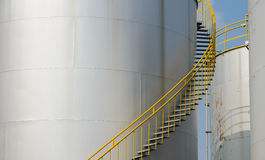 Storage tank Royalty Free Stock Photography