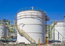 Storage tank Stock Image
