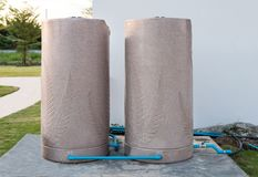 Storage tank water one pair. Stock Photos