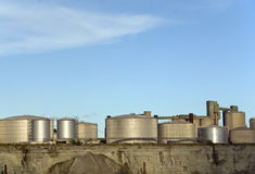 Storage tanks Stock Photos
