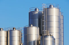 Storage tanks Stock Images