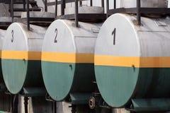 Storage Tanks Stock Image