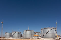 Storage Tanks Stock Photography