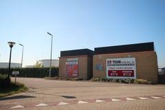 Storage tanks of TEAM terminal in the maasvlakte terminal in the harbor of Rotterdam in the Netherlands.  stock photos