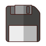 Storage technology de disquette illustration libre de droits