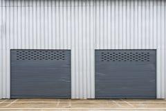 Storage unit. With double door stock image