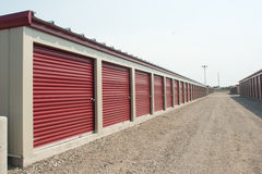 Storage Unit Facility Stock Images