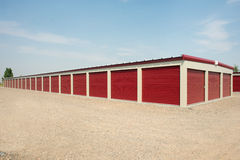 Storage Unit Facility Royalty Free Stock Image