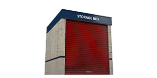 Storage unit Royalty Free Stock Photo