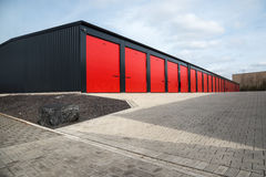 Storage unit Royalty Free Stock Photography