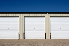 Free Storage Units Royalty Free Stock Image - 1528136