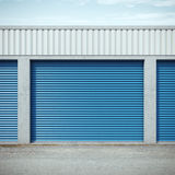 Storage units Royalty Free Stock Images