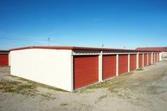 Storage. Units at a  facility Stock Photography