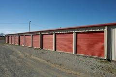 Storage. Units at a  facility Royalty Free Stock Photo