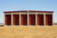 Storage. Units at a  facility Royalty Free Stock Images