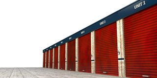 Storage units Stock Photography