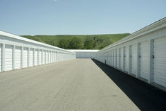 Storage Units Stock Photo