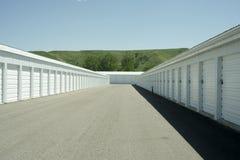 Storage Units. At a local storage rental company Stock Photo