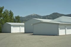 Storage Units Royalty Free Stock Photo