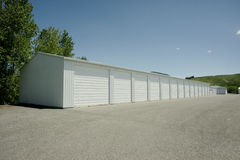 Storage Units Stock Image