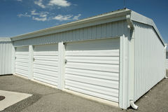 Storage Units Royalty Free Stock Photography