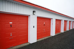 Storage units. Stock Photos