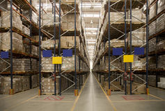 Storage warehouse Royalty Free Stock Images