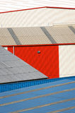 Storage warehouse building facades Stock Photo