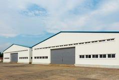 Storage warehouse Royalty Free Stock Photography