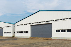 Storage warehouse unit Stock Images