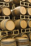 Storage Of Wine Barrels royalty free stock photography