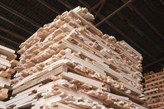 Storage of wood Royalty Free Stock Images