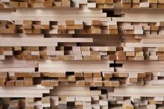 Storage of wood Stock Photography