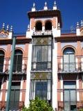 Storartad byggnad i plazaen de San Juan Arkivfoton