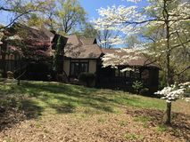 Storartad herrgård i Anne Arundel County i Maryland royaltyfria bilder