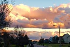 Storartad himmel Royaltyfri Foto